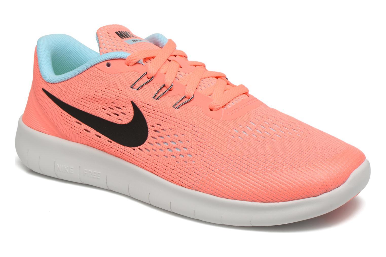 Baskets Nike Nike Free Rn (Gs) Rose vue détail/paire