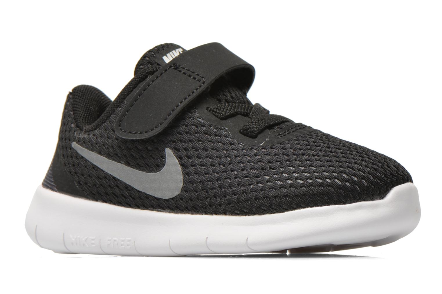 Trainers Nike Nike Free Rn (Tdv) Black back view
