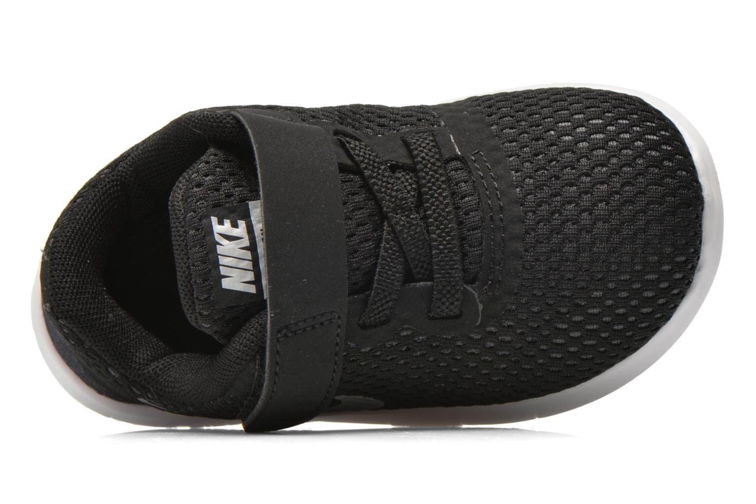 Nike Free Rn (Tdv) Black Metallic Silver-Anthrct