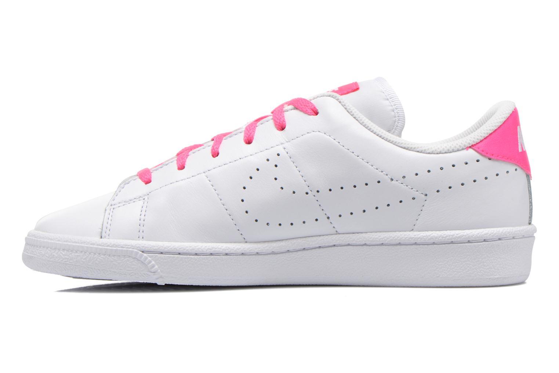 Tennis Classic Prm (Gs) White White-Pink Blast