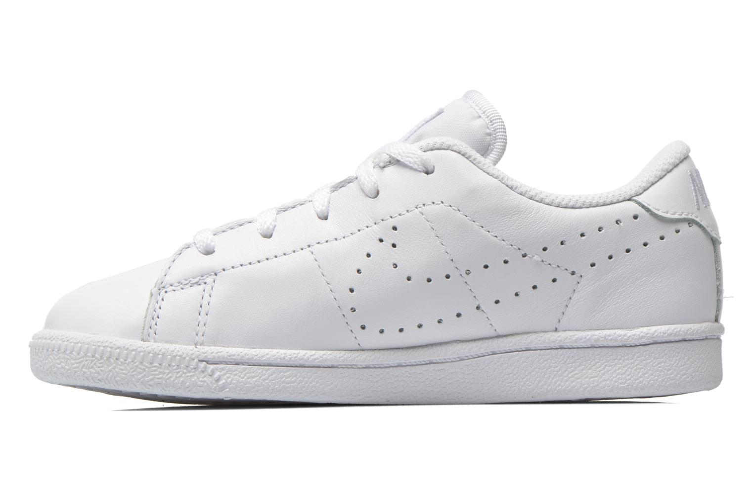 Baskets Nike Tennis Classic Prm (Ps) Blanc vue face