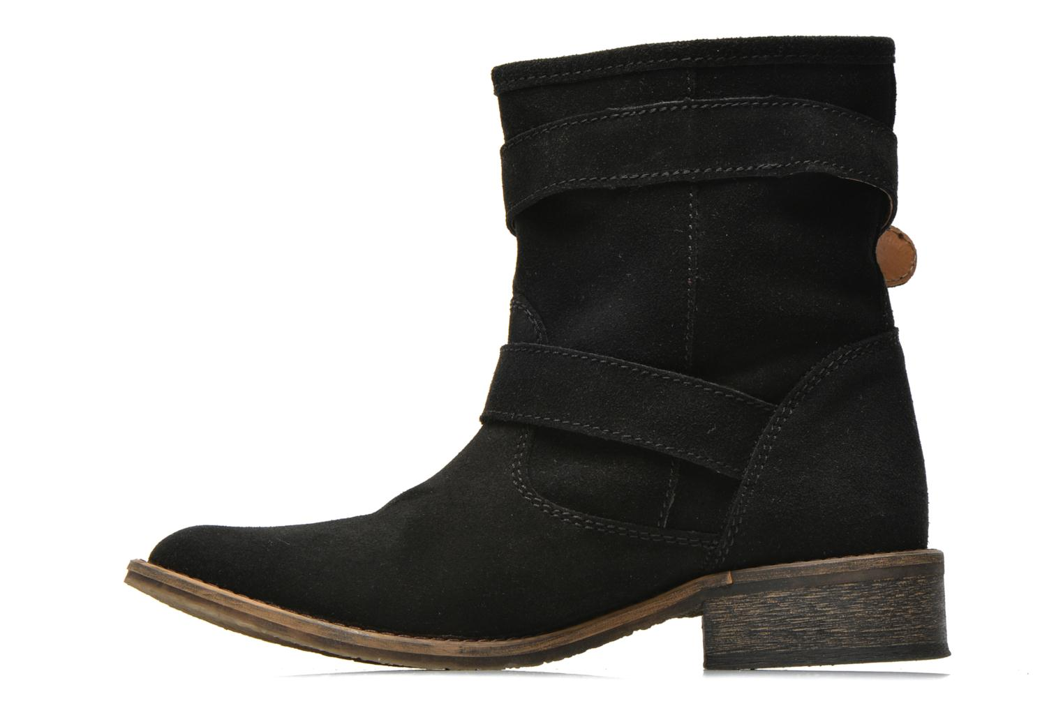 Ankle boots Addict-Initial Chasuble 2 Black front view