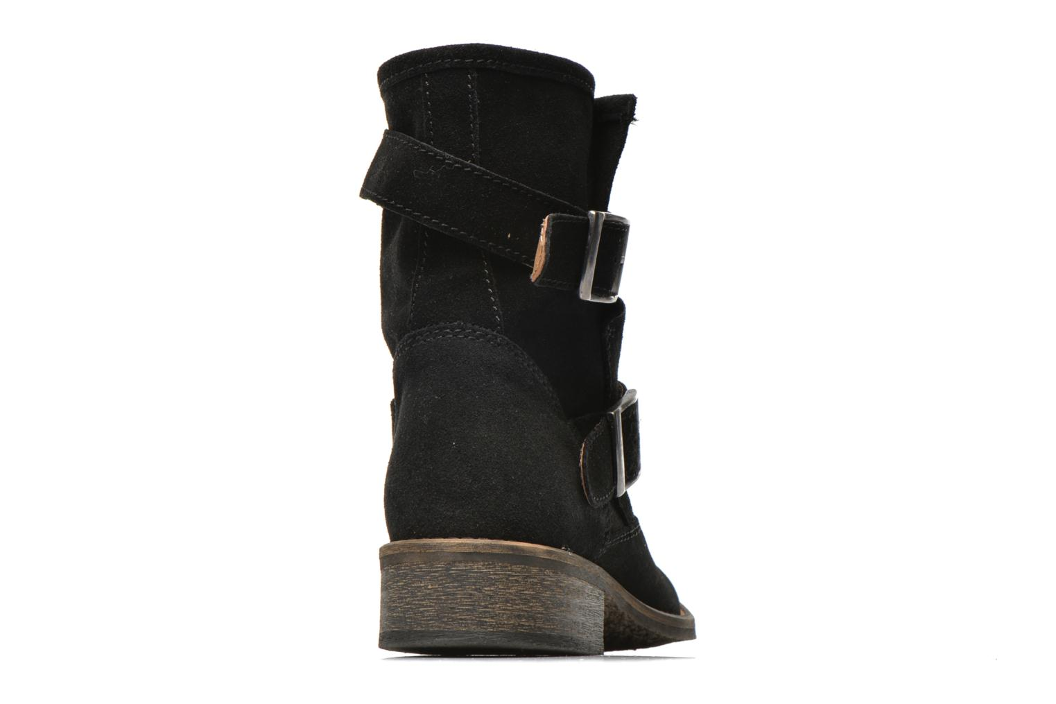 Ankle boots Addict-Initial Chasuble 2 Black view from the right