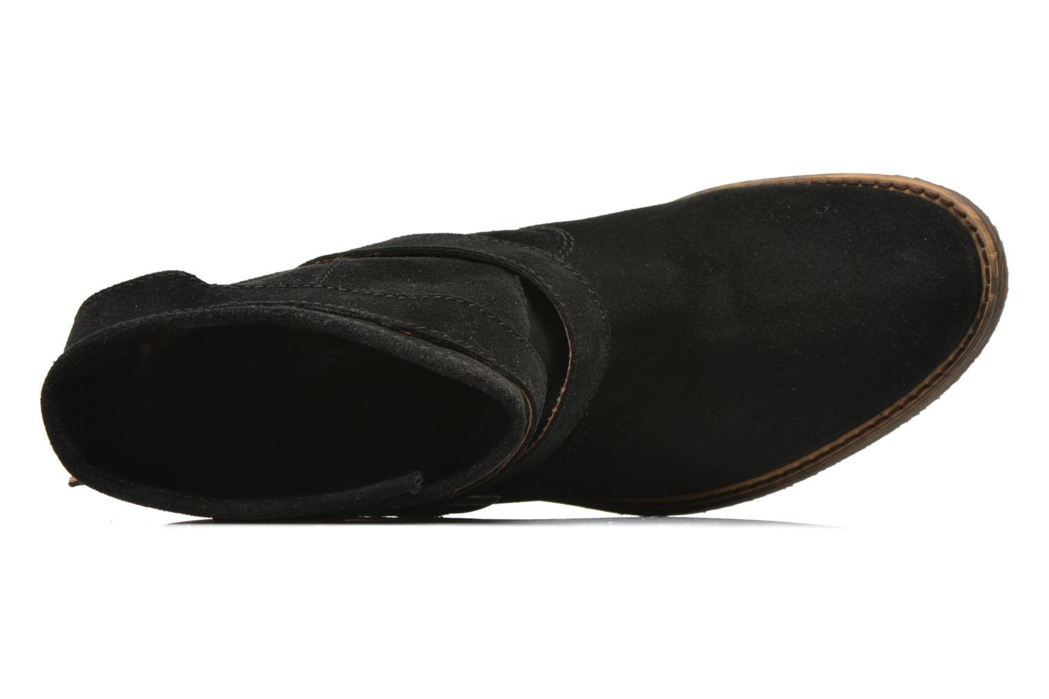 Ankle boots Addict-Initial Chasuble 2 Black view from the left
