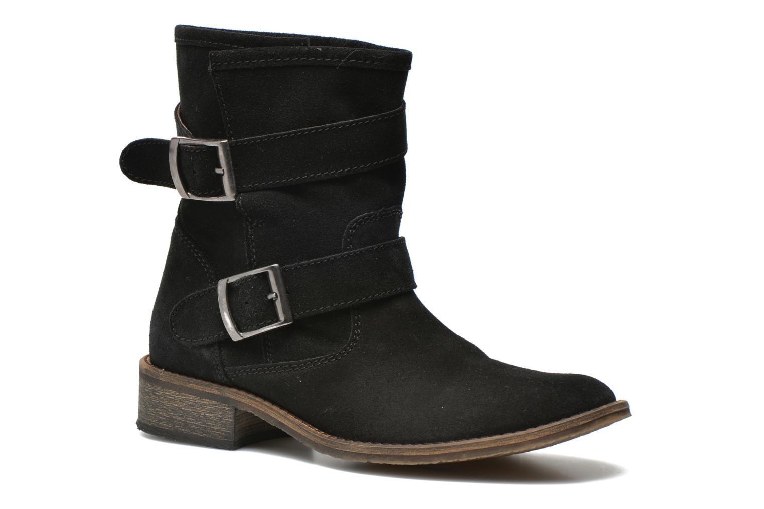 Ankle boots Addict-Initial Chasuble 2 Black detailed view/ Pair view