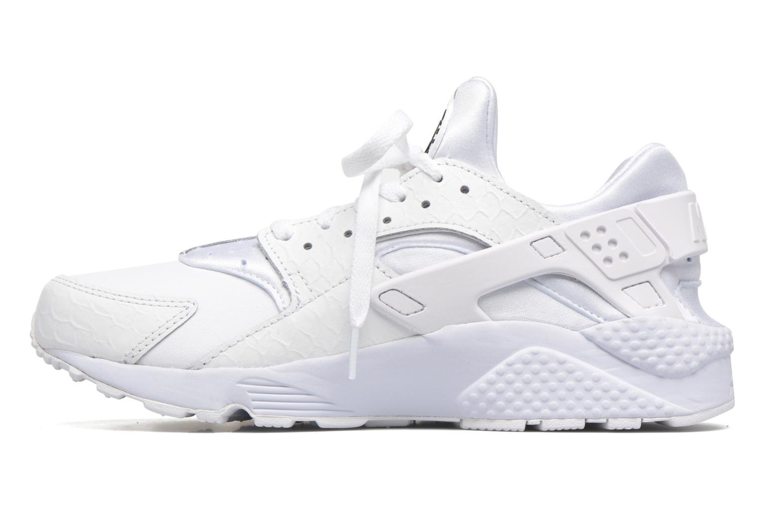 Nike Air Huarache Run Prm White/white-Black