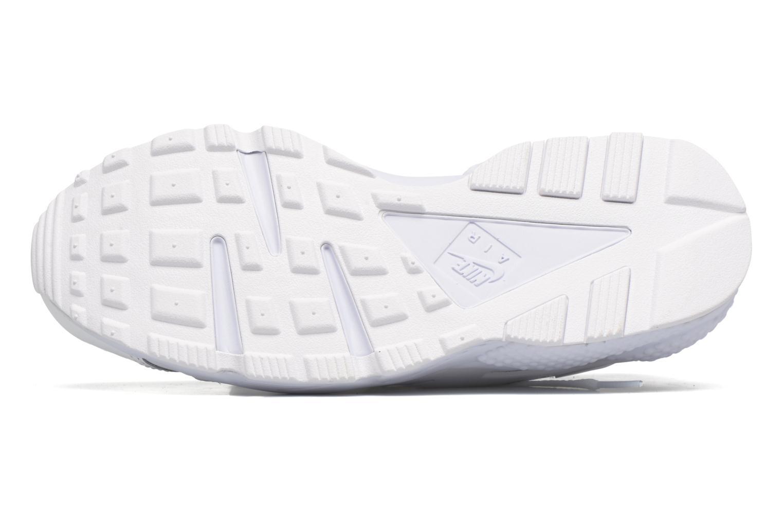 Baskets Nike Nike Air Huarache Run Prm Blanc vue haut