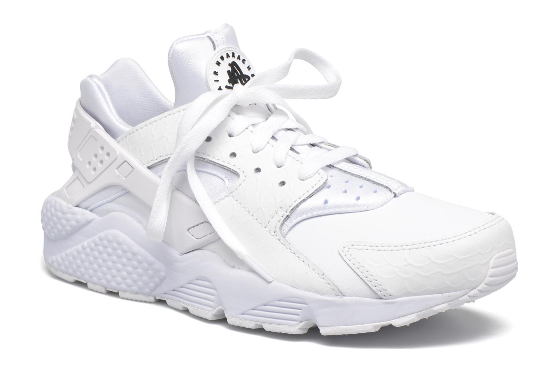 Deportivas Nike Nike Air Huarache Run Prm Blanco vista de detalle / par