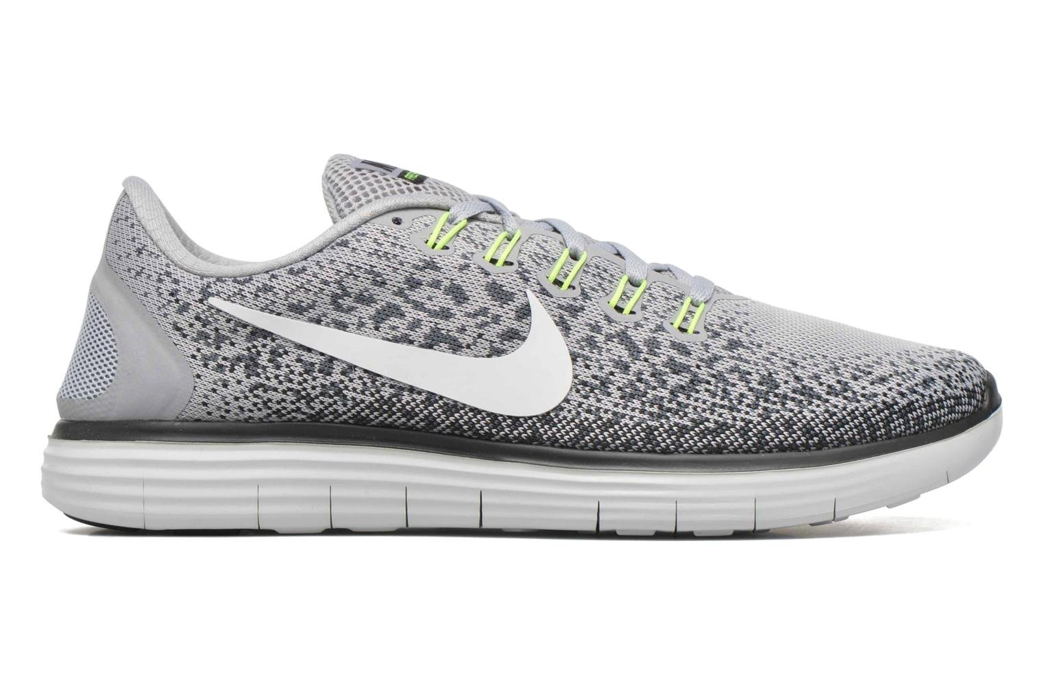 Nike Free Rn Distance Wlf Gry/Off White-Cl Gry-Black