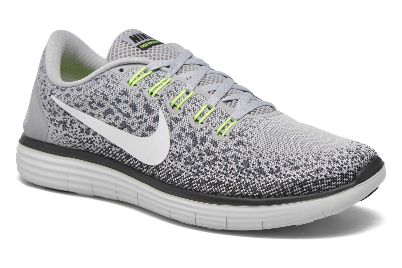 Chaussures de sport Nike Nike Free Rn Distance Gris vue détail/paire