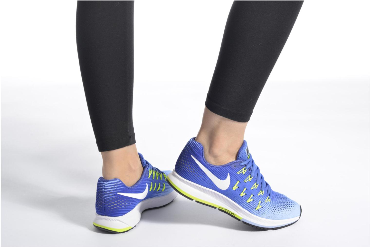 Sport shoes Nike Wmns Nike Air Zoom Pegasus 33 Blue view from underneath / model view