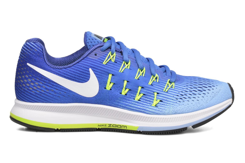 Wmns Nike Air Zoom Pegasus 33 Medium Blue/White-Aluminum-Deep Night