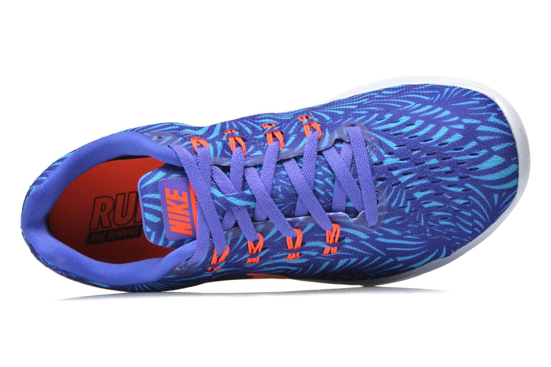 Wmns Nike Lunartempo 2 Print Prsn Vlt/Ttl Crmsn-Gmm Bl-Bl T