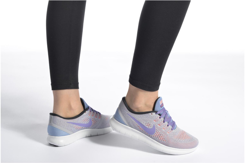 Zapatillas de deporte Nike Wmns Nike Free Rn Verde vista de abajo