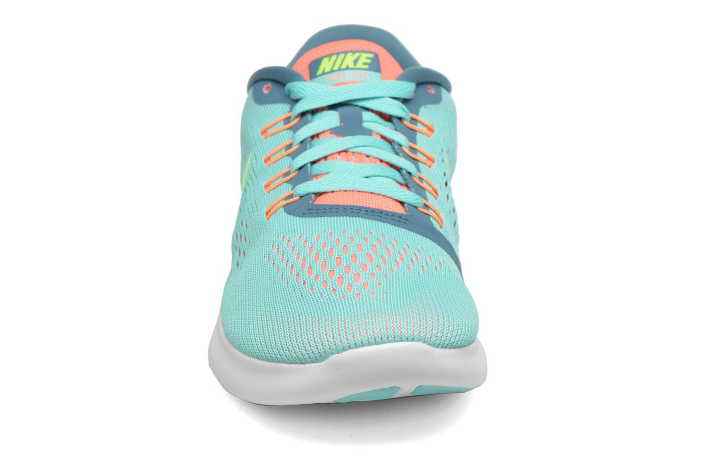 Zapatillas de deporte Nike Wmns Nike Free Rn Verde vista del modelo