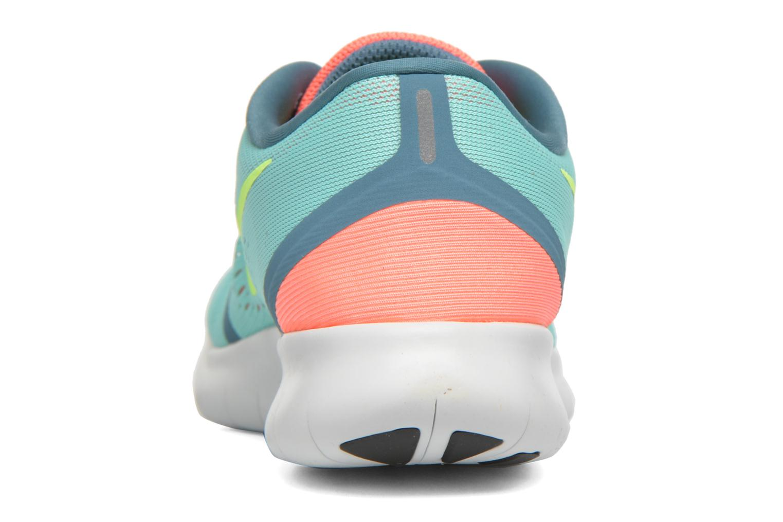 Zapatillas de deporte Nike Wmns Nike Free Rn Verde vista lateral derecha
