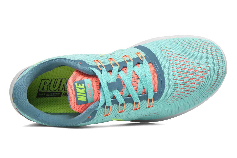 Zapatillas de deporte Nike Wmns Nike Free Rn Verde vista lateral izquierda