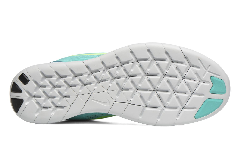 Zapatillas de deporte Nike Wmns Nike Free Rn Verde vista de arriba