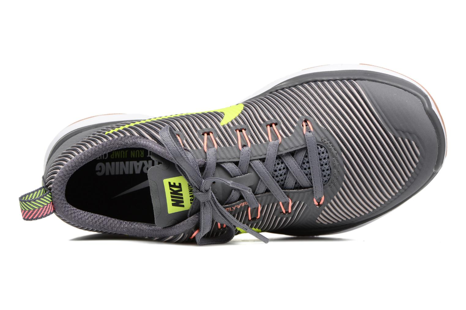 Sport shoes Nike Nike Free Train Versatility Grey view from the left