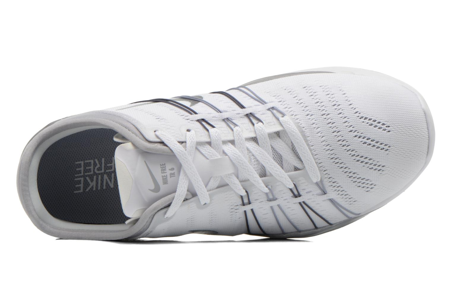 Sport shoes Nike Wmns Nike Free Tr 6 White view from the left