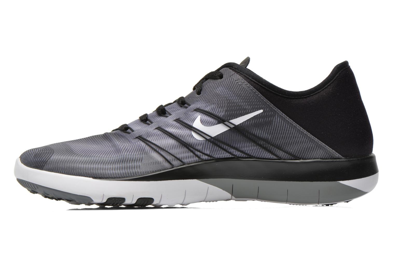 Sportschuhe Nike Wmns Nike Free Tr 6 Prt grau ansicht von vorne