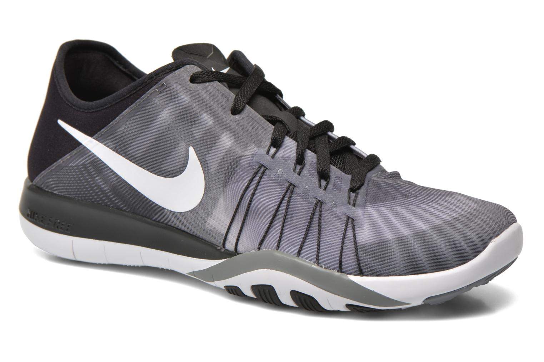 Wmns Nike Free Tr 6 Prt Black/White-Cool Grey