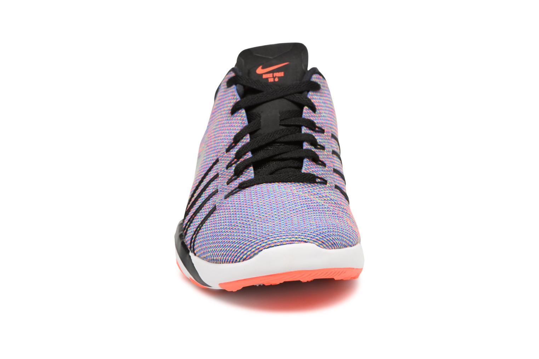 Chaussures de sport Nike Wmns Nike Free Tr 6 Prt Noir vue portées chaussures