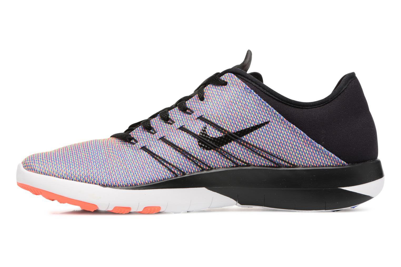 Wmns Nike Free Tr 6 Prt Black/Black-Total Crimson-White