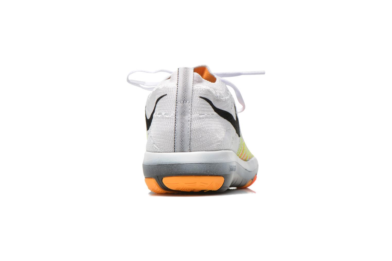Wm Nike Free Transform Flyknit White/Black-Lsr Orng-Ttl Orng