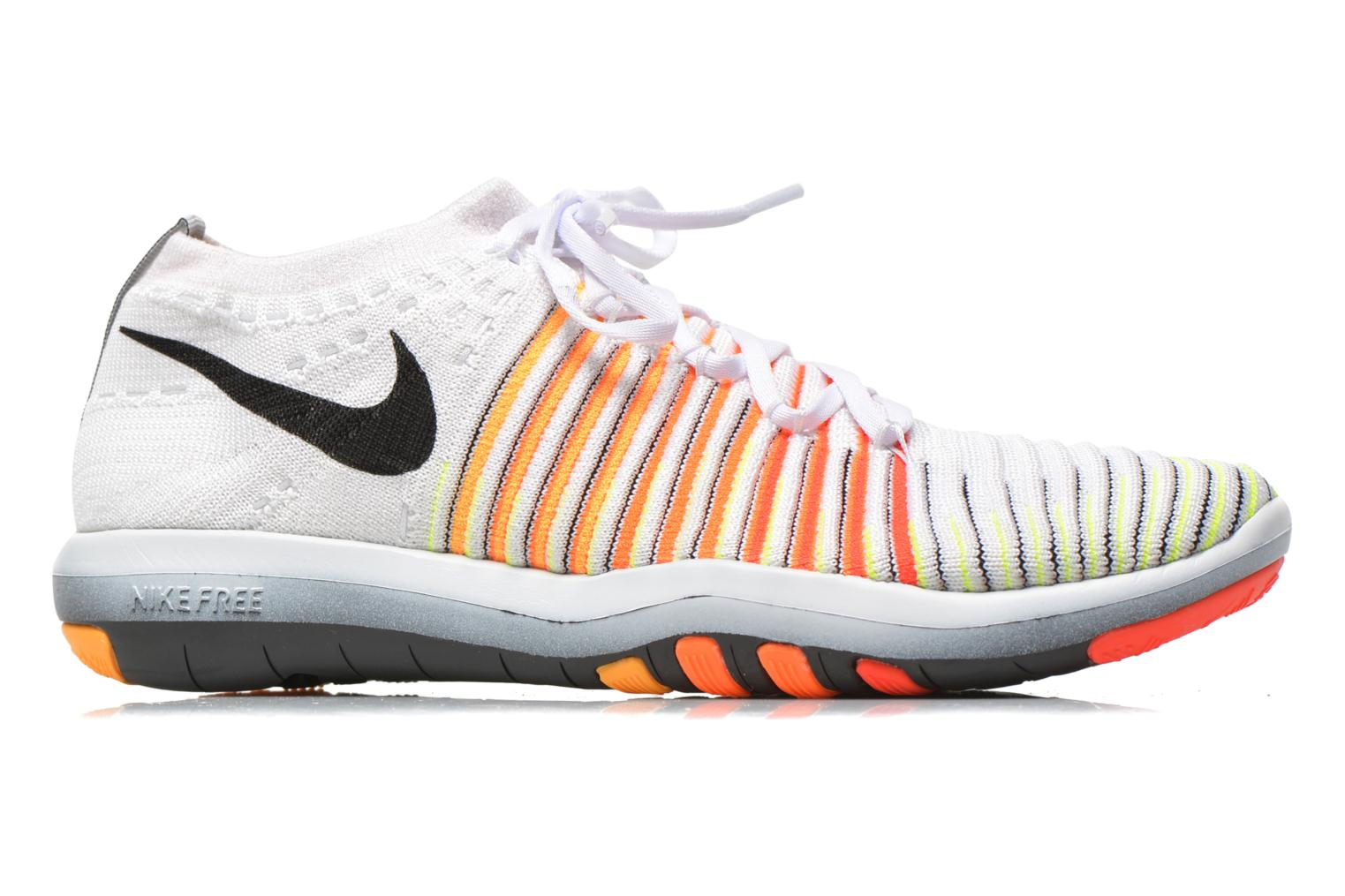 Wm Nike Free Transform Flyknit White/Black-Lsr Orng-Ttl Orng