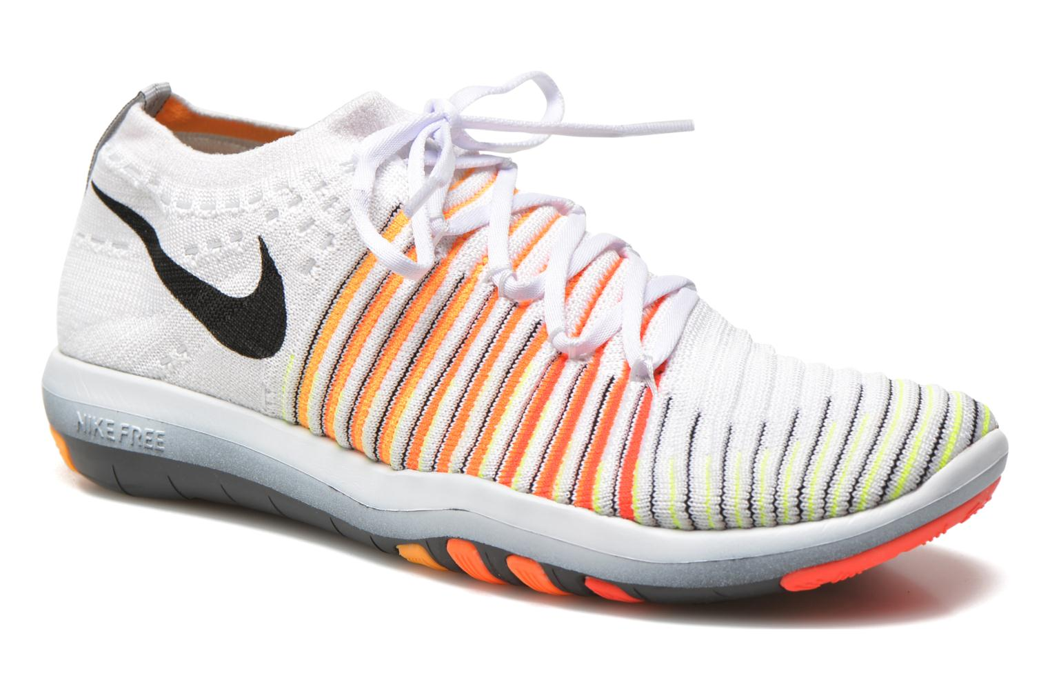 Sport shoes Nike Wm Nike Free Transform Flyknit White detailed view/ Pair view
