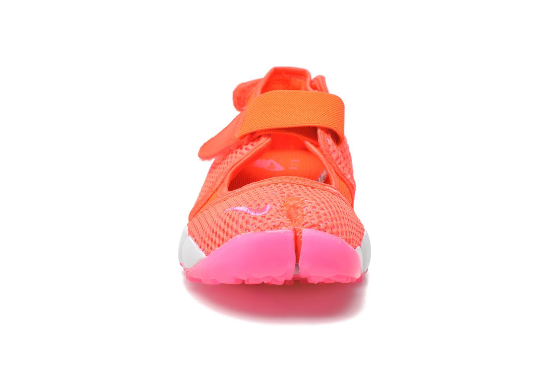 Baskets Nike Wmns Nike Air Rift Br Orange vue portées chaussures