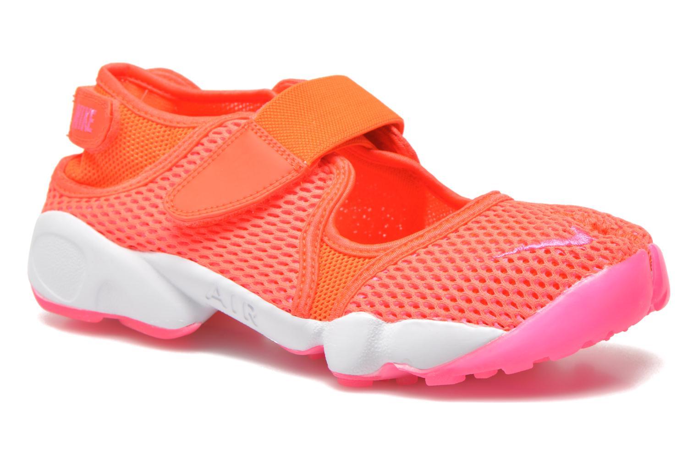 Baskets Nike Wmns Nike Air Rift Br Orange vue détail/paire