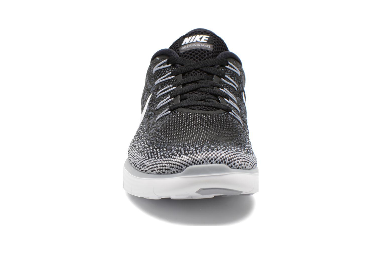 Wmns Nike Free Rn Distance Black/White-Dark Grey-Wlf Grey