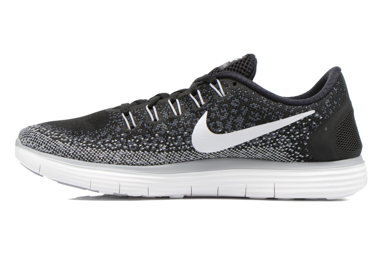 Chaussures de sport Nike Wmns Nike Free Rn Distance Noir vue face