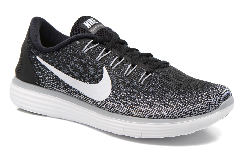 Chaussures de sport Nike Wmns Nike Free Rn Distance Noir vue détail/paire