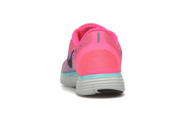Chaussures de sport Nike Wmns Nike Free Rn Distance Rose vue droite
