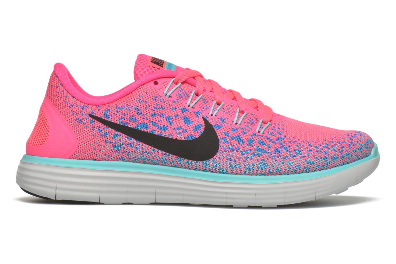 Chaussures de sport Nike Wmns Nike Free Rn Distance Rose vue derrière