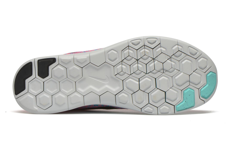 Chaussures de sport Nike Wmns Nike Free Rn Distance Rose vue haut
