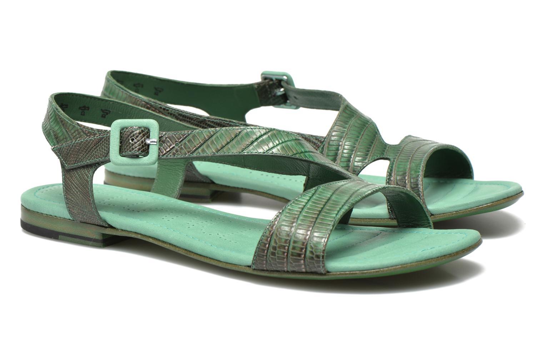 Sandales et nu-pieds Free Lance Tylia Sanda Line Vert vue 3/4
