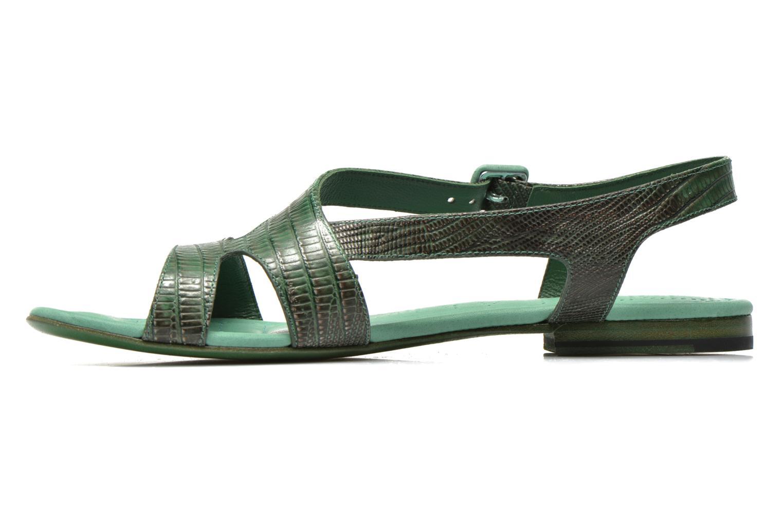 Sandales et nu-pieds Free Lance Tylia Sanda Line Vert vue face