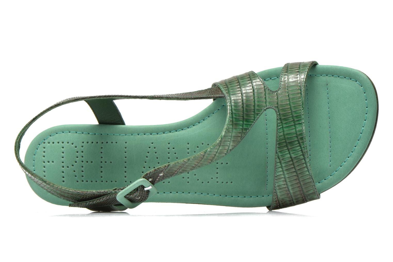 Sandales et nu-pieds Free Lance Tylia Sanda Line Vert vue gauche