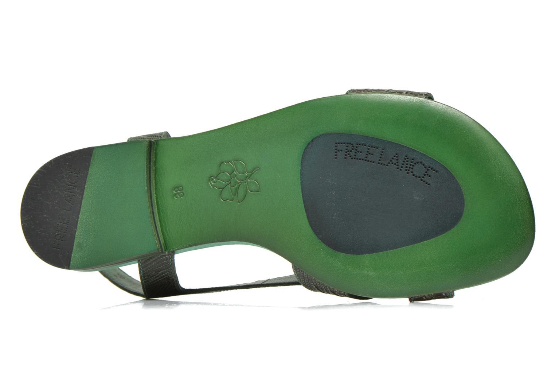 Sandales et nu-pieds Free Lance Tylia Sanda Line Vert vue haut