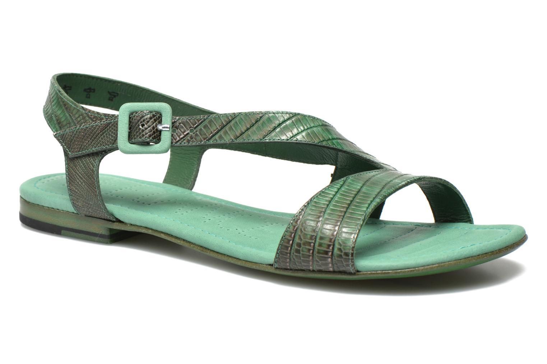 Sandales et nu-pieds Free Lance Tylia Sanda Line Vert vue détail/paire