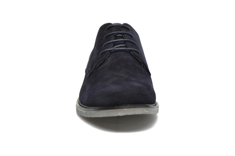 Schnürschuhe I Love Shoes SUPERBES blau schuhe getragen