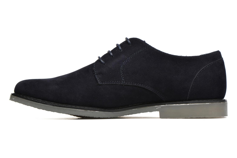 Snörade skor I Love Shoes SUPERBES Blå bild från framsidan