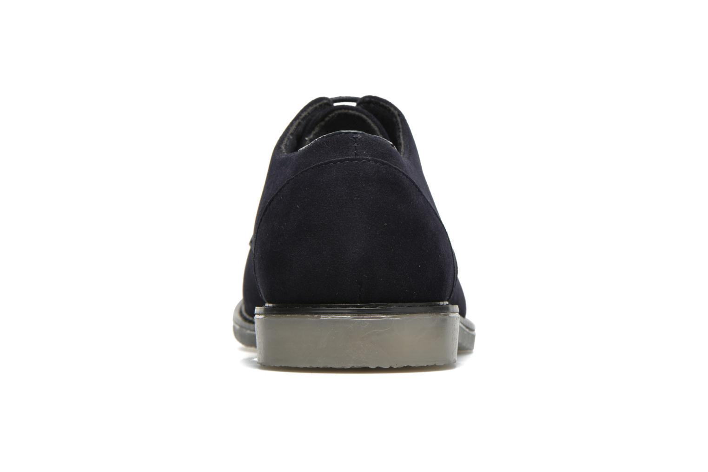 Snörade skor I Love Shoes SUPERBES Blå Bild från höger sidan