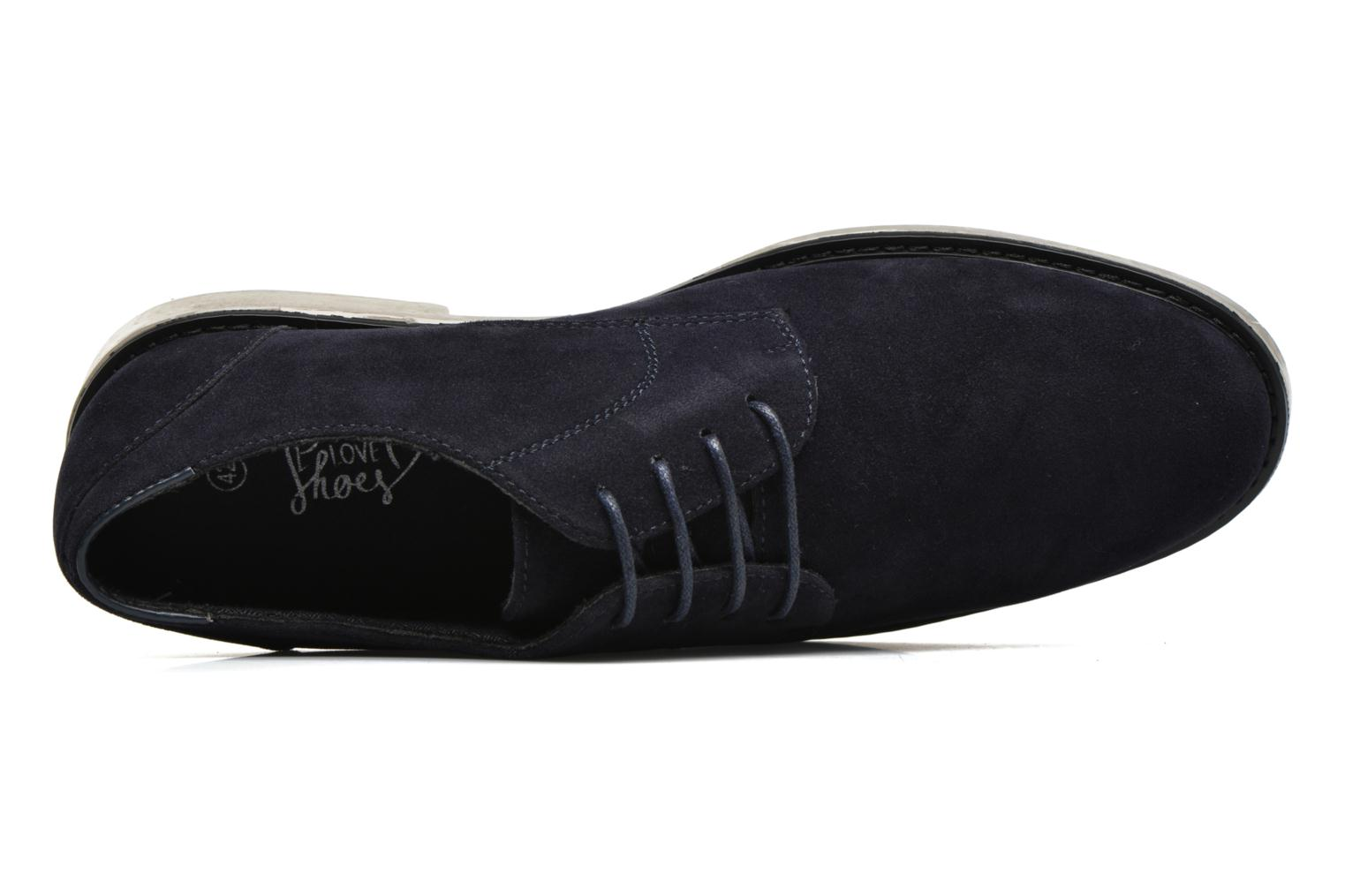 Lace-up shoes I Love Shoes SUPERBES Blue view from the left