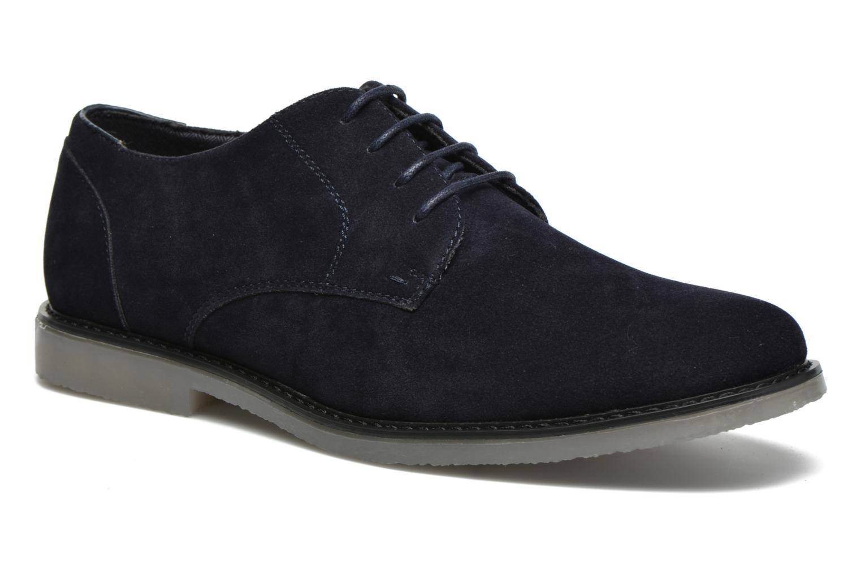 Snörade skor I Love Shoes SUPERBES Blå detaljerad bild på paret