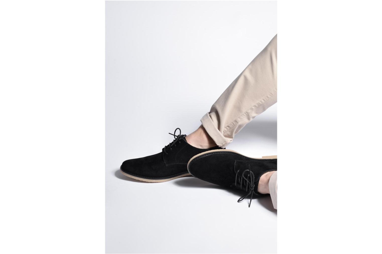 Chaussures à lacets I Love Shoes SUPERBES Gris vue bas / vue portée sac